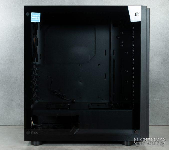 Thermaltake H100 TG - Vista lateral principal