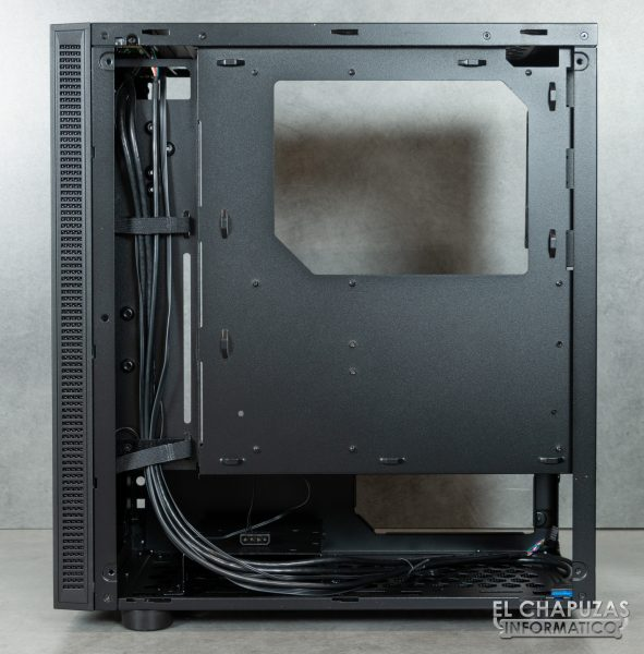 Thermaltake H100 TG - Lado posterior interior