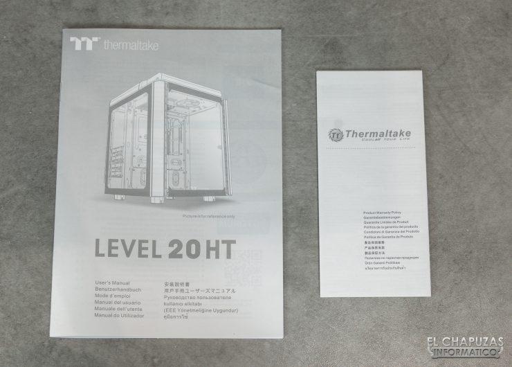 Thermaltake Level 20 HT Snow Edition - Documentación