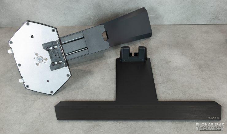 ViewSonic Elite XG270QG - Peana desmontada