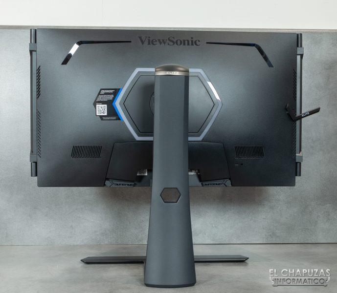 ViewSonic Elite XG270QG - Vista trasera
