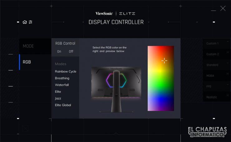 ViewSonic Elite XG270QG - Software