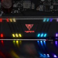 Patriot Memory lanza su Viper Gaming VPR100 RGB, un SSD M.2 PCIe 3.0 con iluminación RGB