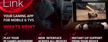 AMD Link había sido rediseñado por completo: Jugando a tus juegos de PC en tu Smartphone o Smart TV