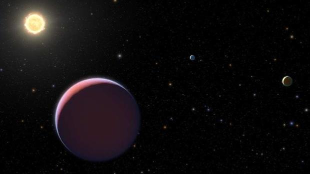 exoplaneta algodón de azúcar
