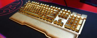 ADATA Golden Summoner: Teclado gaming bañado en oro por 10.000 dólares