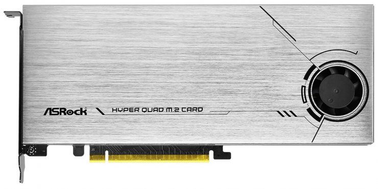 Hyper Quad M.2 PCIe 4.0