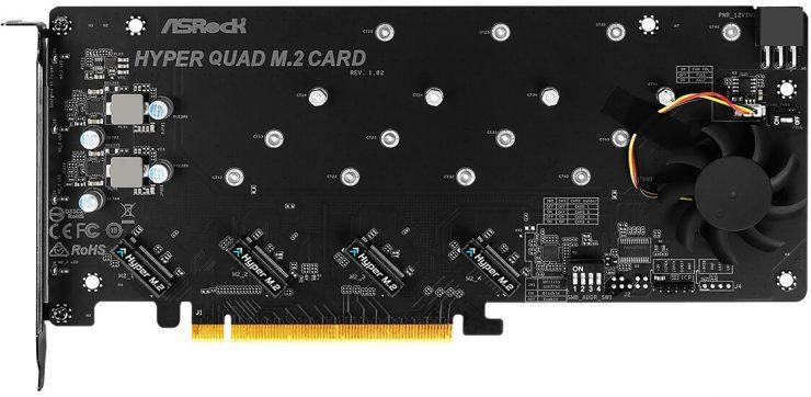 ASRock Hyper Quad M.2 PCIe 4.0