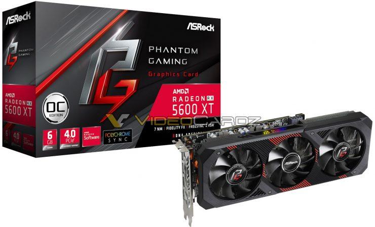Radeon RX 5600 XT Phantom Gaming
