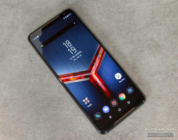 Asus ROG Phone II - Pantalla encendida