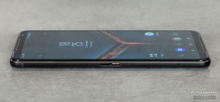 Asus ROG Phone II - Lateral izquierdo
