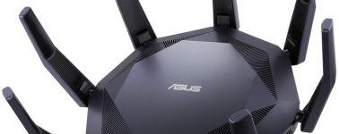 Asus RT-AX89X: Potente router WiFi 802.11ax @ 6 Gbps que se parece a un cangrejo