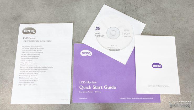 BenQ EW3280U - Documentación
