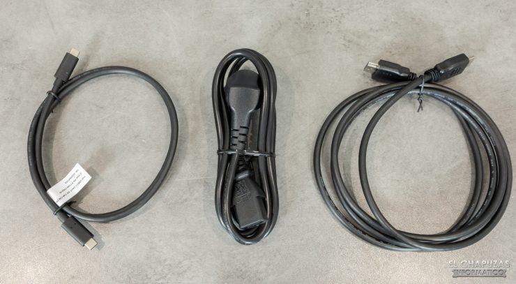 BenQ EW3280U - Cables