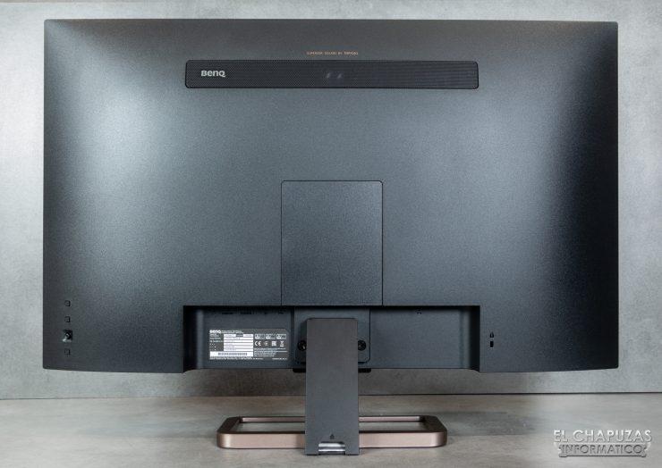 BenQ EW3280U - Vista trasera