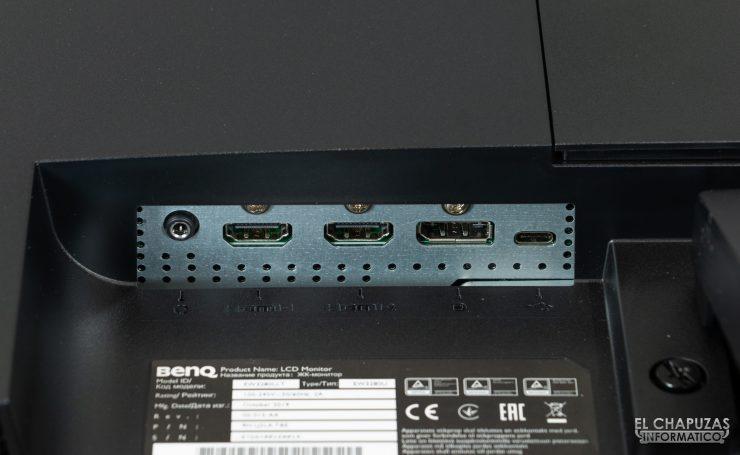 BenQ EW3280U - Conectores