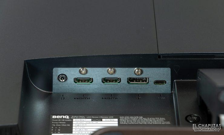 BenQ EX2780Q - Conectores