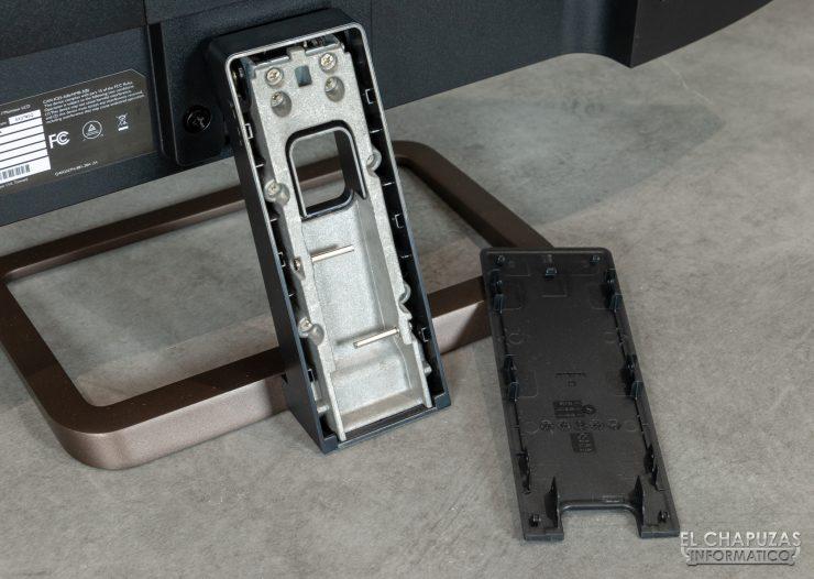BenQ EX2780Q - Organizador cableado