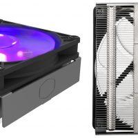 Cooler Master MasterAir G200P: Disipador CPU de perfil bajo con iluminación RGB