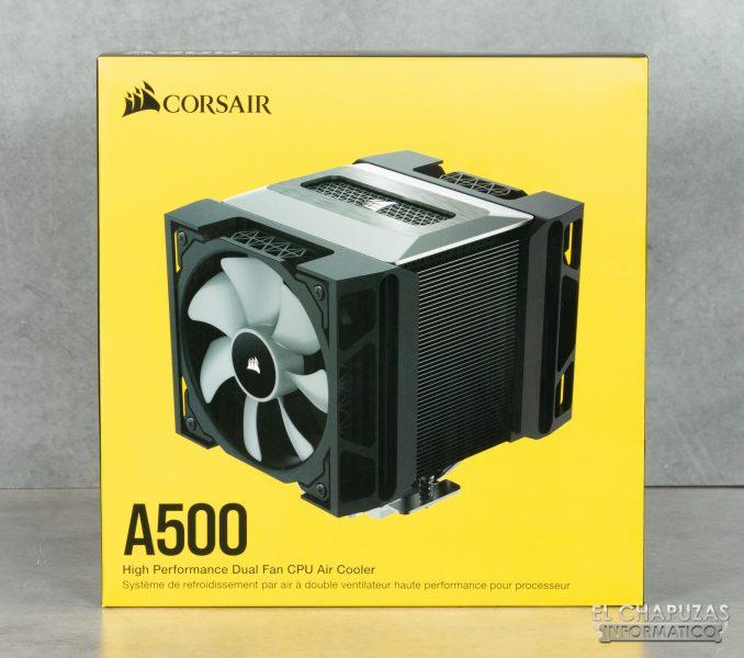 Corsair A500 - Embalaje 1