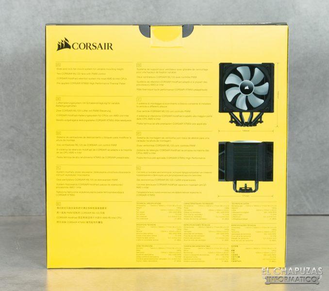 Corsair A500 - Embalaje 2
