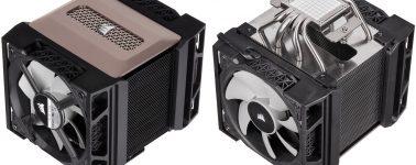 Corsair A500: Un gigante disipador de CPU por aire y nueva líquida iCUE RGB PRO XT