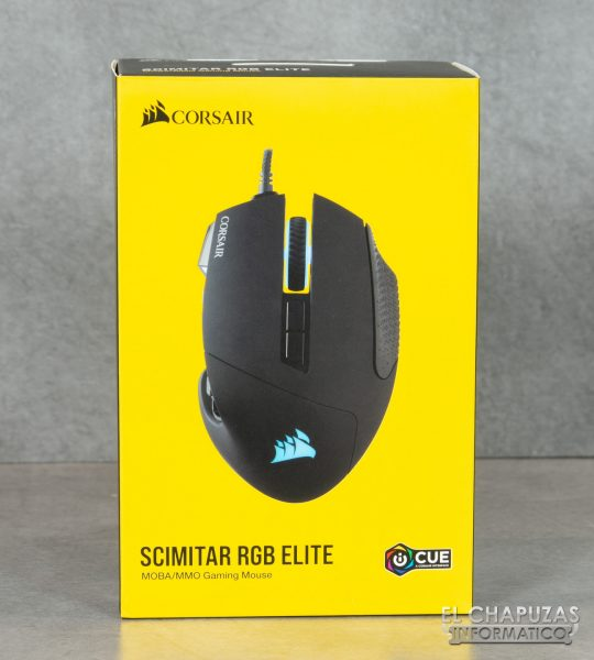 Corsair Scimitar RGB Elite - Embalaje 1