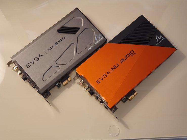 EVGA NU Audio vs EVGA NU Audio Pro