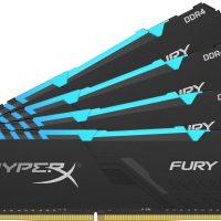 HyperX anuncia sus memorias Fury RGB e HyperX Impact