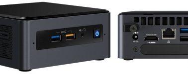 Los Intel NUC 8 Pro salen al mercado con un precio de partida de 400 euros con un Core i3-8145U