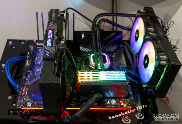 KFA2 GeForce RTX 2070 SUPER Work The Frames - Equipo de pruebas 2