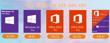Llevate Windows 10 Pro desde 6,97€; 23,43€ con Microsoft Office 2016 Pro