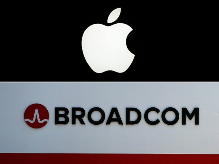 Apple y Broadcom