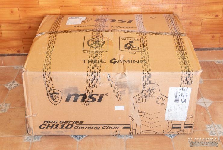 MSI MAG CH110 - Embalaje 1