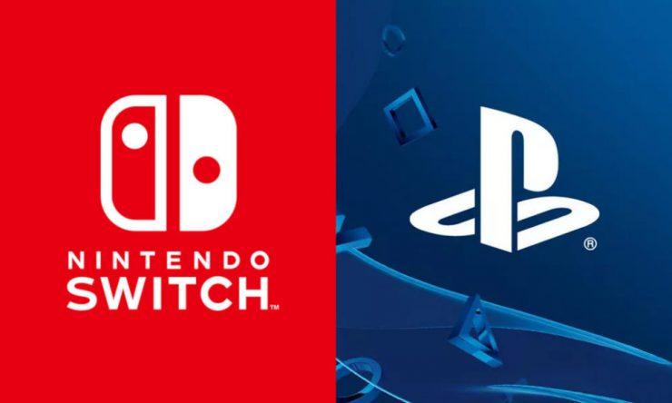 Nintendo Switch Sony PlayStation