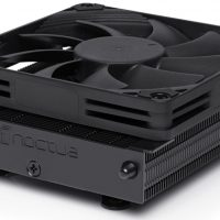 Noctua NH-L9a-AM4 chromax.black: Disipador CPU para un equipo AMD Ryzen compacto