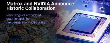 Matrox llega a un acuerdo con Nvidia para desarrollar gráficas embebidas