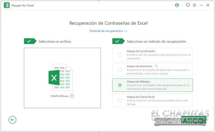 Passper for Excel 14