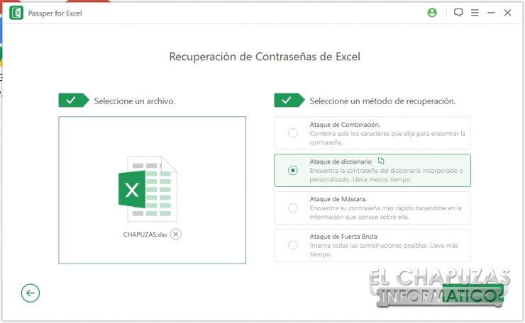 Passper for Excel 18