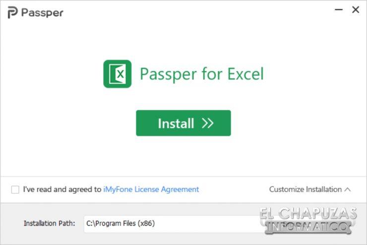 Passper for Excel 2