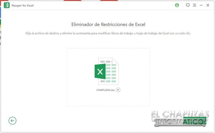 Passper for Excel 20