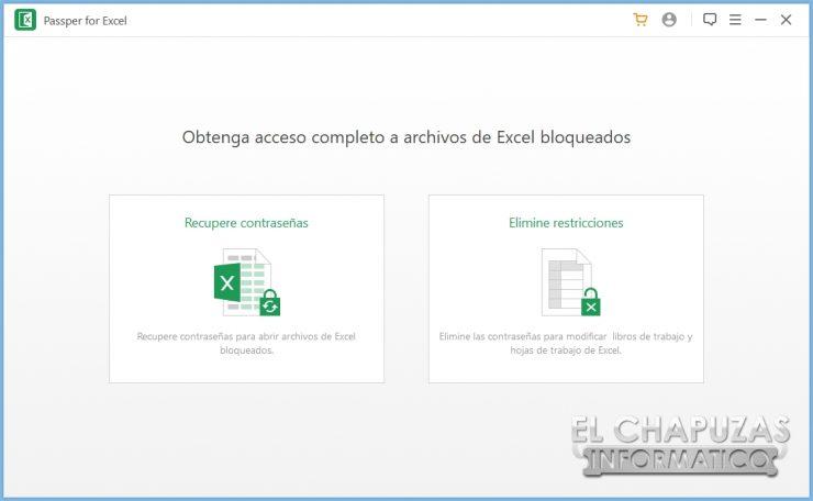 Passper for Excel 3
