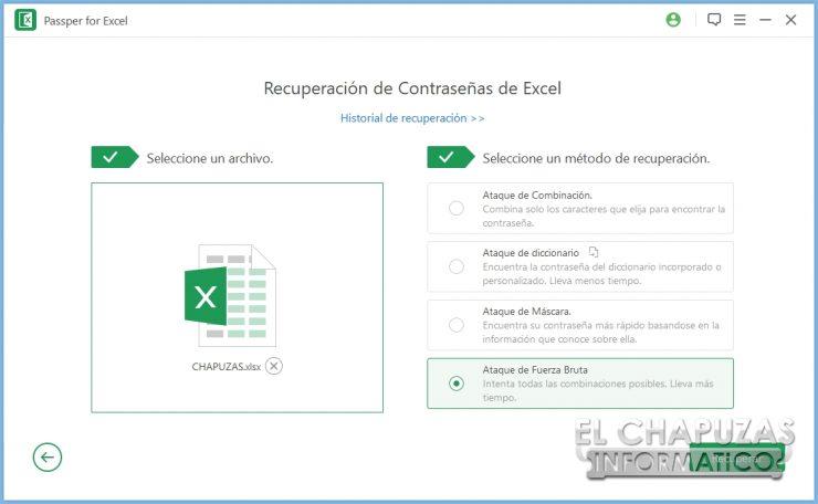 Passper for Excel 4