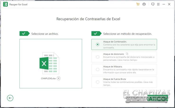 Passper for Excel 6