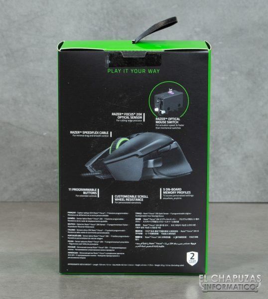 Razer Basilisk V2 - Embalaje 2