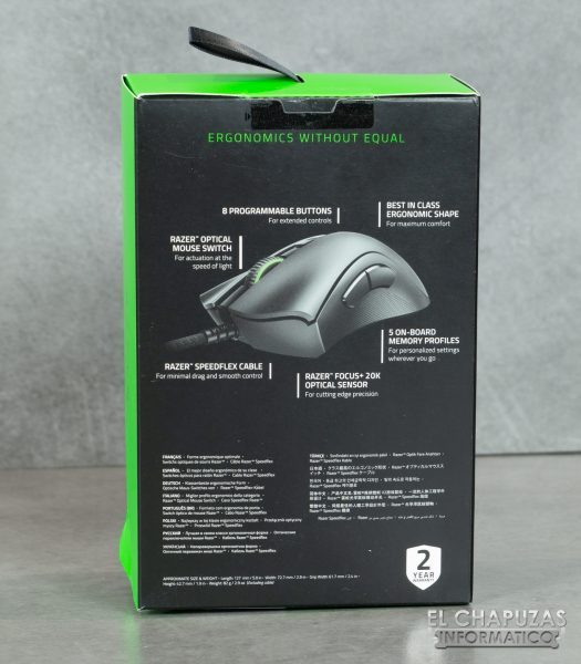 Razer Deathadder V2 - Embalaje 2