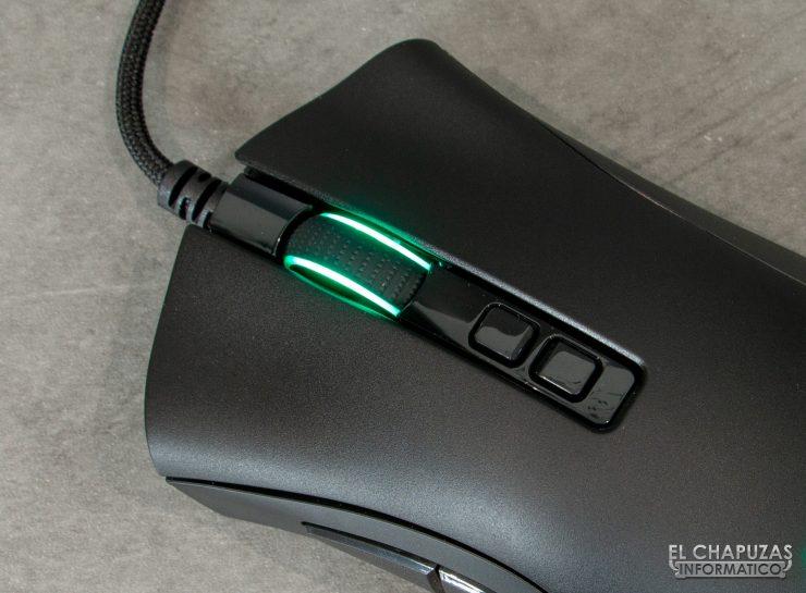 Razer Deathadder V2 - Botones principales