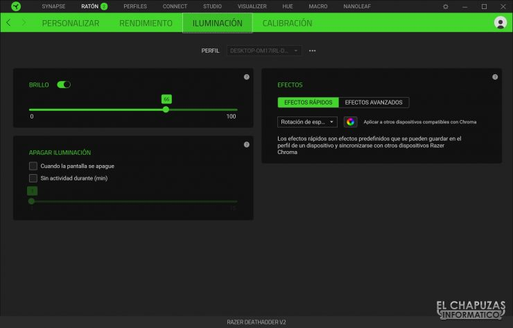 Razer Deathadder V2 - Software 3
