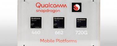 Qualcomm anuncia sus nuevos SoCs Snapdragon 720G, 662 y 460