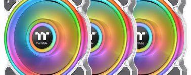 Thermaltake anuncia sus ventiladores Riing Quad 12/14 RGB Radiator pensando en las líquidas